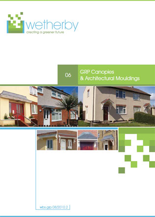 GRP Canopies & Architectural Mouldings Brochure