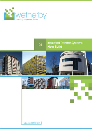 Insulated Render Systems New Build Brochure