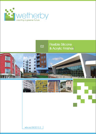 Flexible Silicone & Acrylic Finishes Brochure