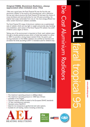 Die Cast Aluminium Radiators Brochure
