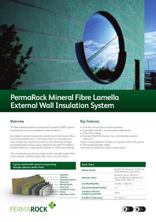 PermaRock Mineral Fibre Lamella External Wall Insulation System Brochure
