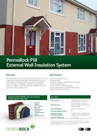 PermaRock PIR External Wall Insulation System Brochure