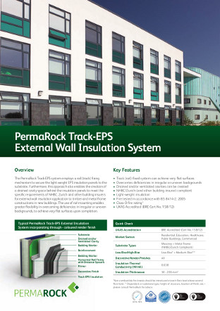 PermaRock Track-EPS External Wall Insulation System Brochure