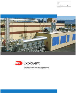 CS Explovent Explosion Venting Systems Brochure