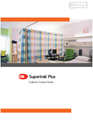 CS Supertrak Cubicle Curtain Track Brochure