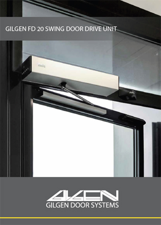 Gilgen FD 20 Swing Door Drive Unit Brochure