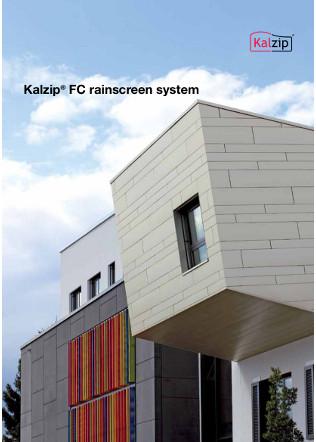 Kalzip FC rainscreen system Brochure