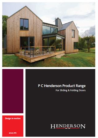 P C Henderson Product Range Brochure