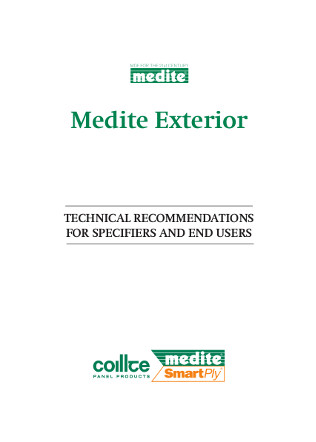 Medite Exterior Technical Guidelines Brochure