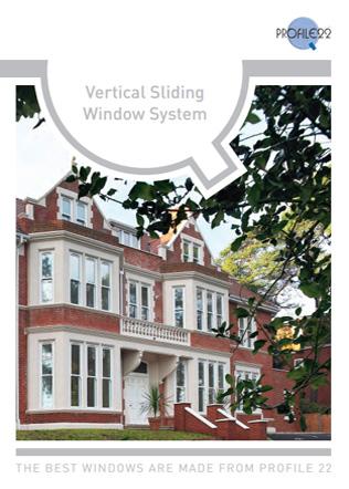 Vertical Sliding Window System Brochure