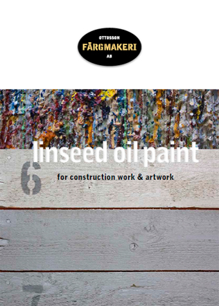 Linseed Oil Paint Brochure