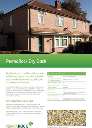 PermaRock Dry Dash Brochure