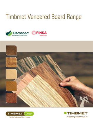 Timbmet Veneered Board Range Brochure