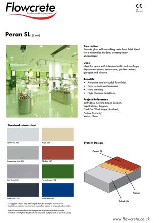 Peran SL Brochure