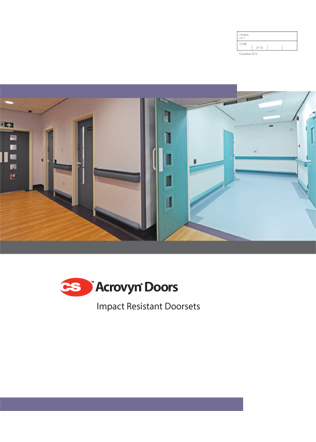 CS Acrovyn Doors Brochure