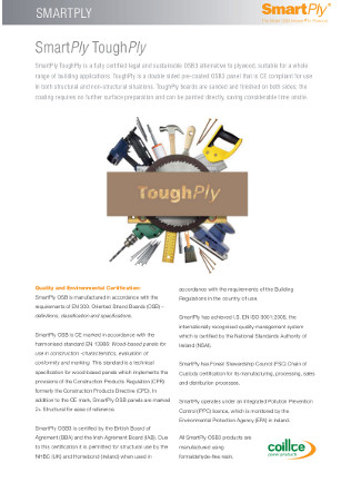 SmartPly ToughPly Datasheet Brochure