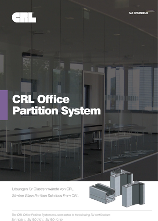 CRL Office Partition System Brochure