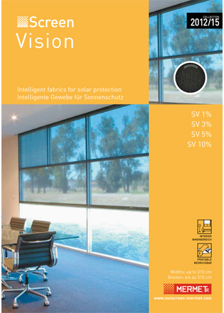 Mermet SCREEN VISION 2015 Brochure