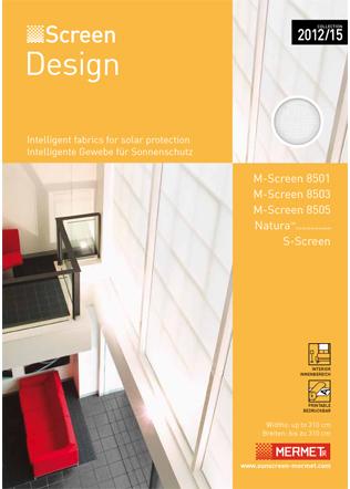 Mermet SCREEN DESIGN collection 2015 Brochure