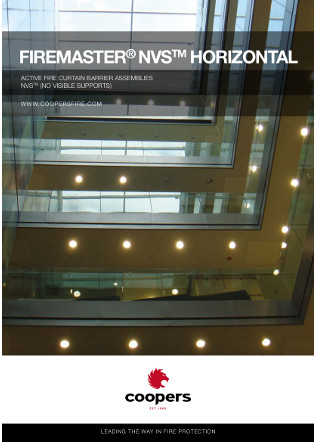 Horizontal fire Curtains Brochure