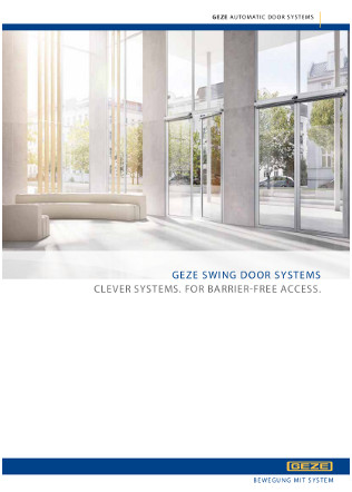 Automatic Swing Door Drives Brochure