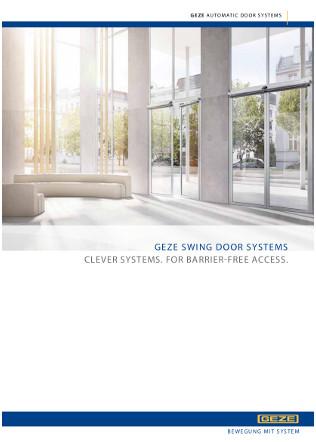 Automatic Swing Door Drives Brochure