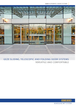 Automatic Sliding, Telescopic and Folding Doors Brochure