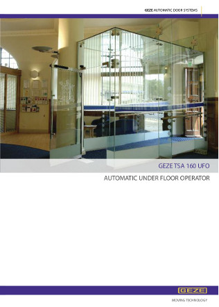 TSA 160 UFO Automatic Swing Brochure