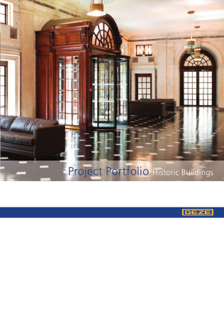 Project Portfolio Historic Buildings Brochure