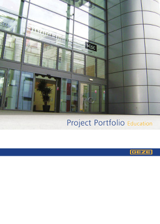 Project Portfolio Education Brochure