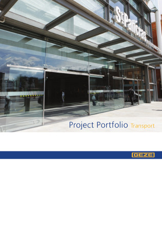 Project Portfolio Transport Brochure