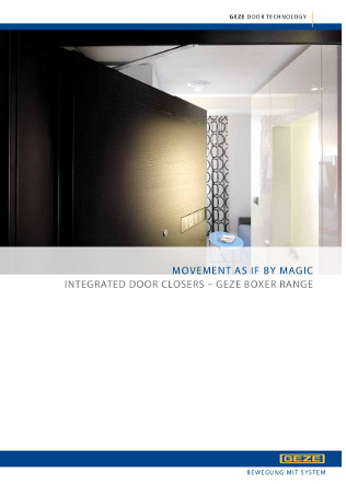Boxer Concealed closer Brochure