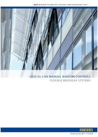 OL Line Manual Window Controls Brochure