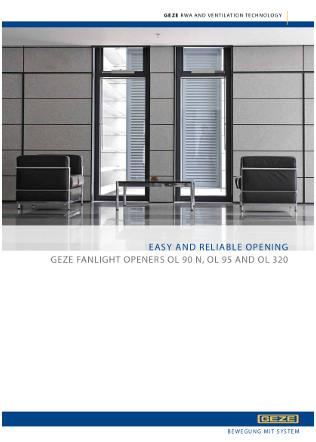 OL Fanlight opening systems Brochure