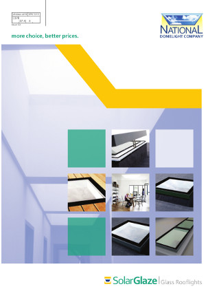 Solarglaze Glass Rooflights Brochure