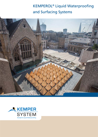 KEMPEROL Liquid Waterproofing and Surfacing Systems Brochure