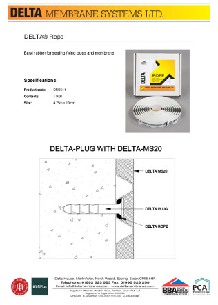 DELTA® Rope Brochure