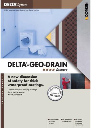 DELTA®-GEO-DRAIN Quattro Brochure