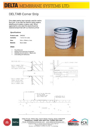 DELTA® Corner Strip Brochure