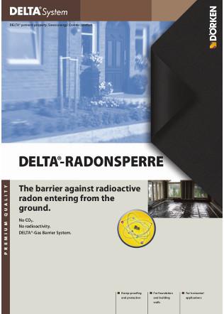 DELTA®-RADONSPERRE Brochure