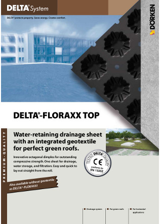 DELTA® Floraxx Top — Green roofs Brochure