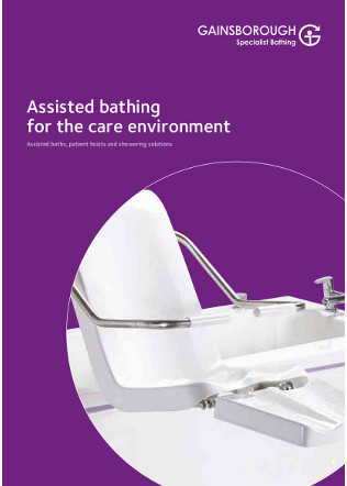 Assisted bathing for the care environment Brochure