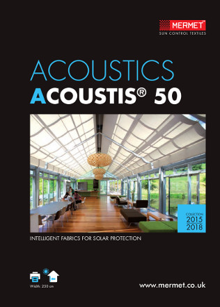 Mermet Acoustics 50 2015 Brochure