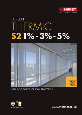 Mermet SCREEN THERMIC 2015 Brochure