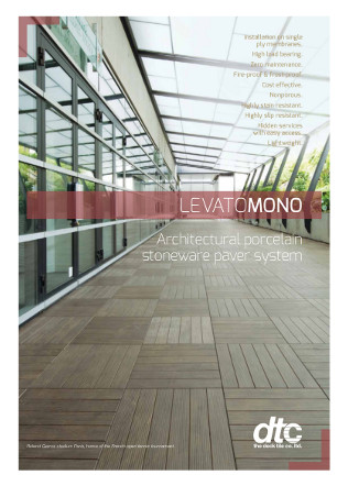 Architectural Porcelain Stoneware Pavers Brochure