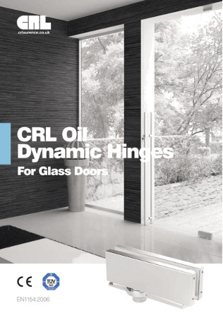 CRL Oil Dynamic Hinges for Glass Doors Brochure