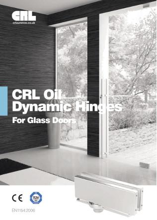 CRL Oil Dynamic Hinges for Glass Doors Brochure