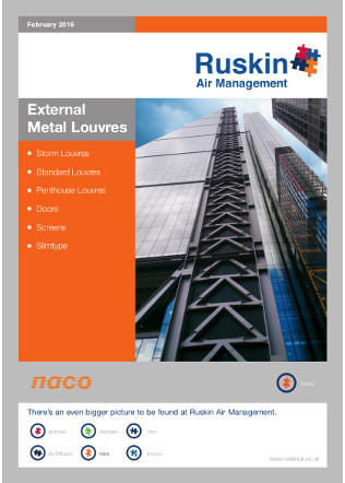 External Metal Louvres Brochure
