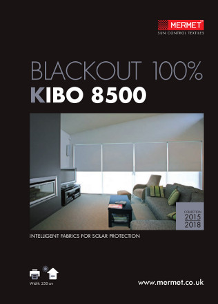 BLACKOUT 100% KIBO 8500 Brochure