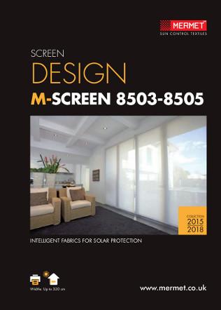 SCREEN DESIGN M-SCREEN 8503-8505 Brochure